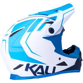 Kali Zoka Helm Heren, white/blue/navy